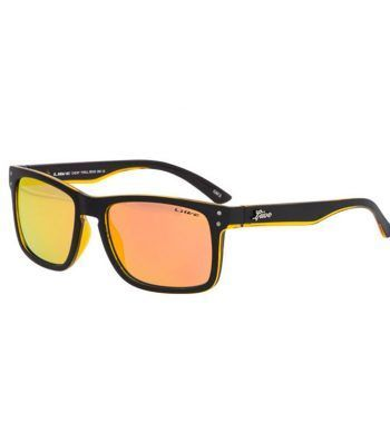 GAFAS DE SOL CHEAP-THRILL-REVO-MATT-BLACK-ORANGE
